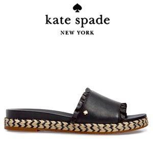 ♠️ NWT Kate Spade Leather Slide Sandals♠️